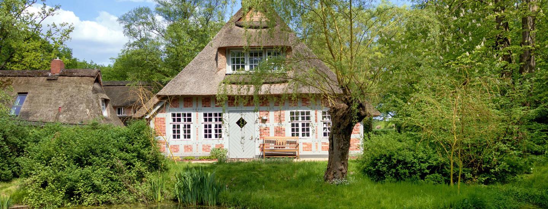 Worpswede: Haus im Schluh zwischen Weser und Elbe