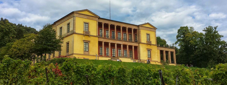 Schloss Villa Ludwigshöhe in der Pfalz