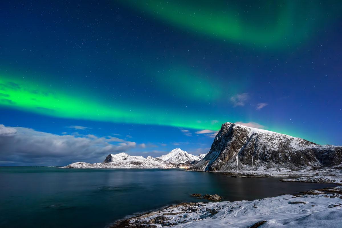Polarlichter auf den Lofoten