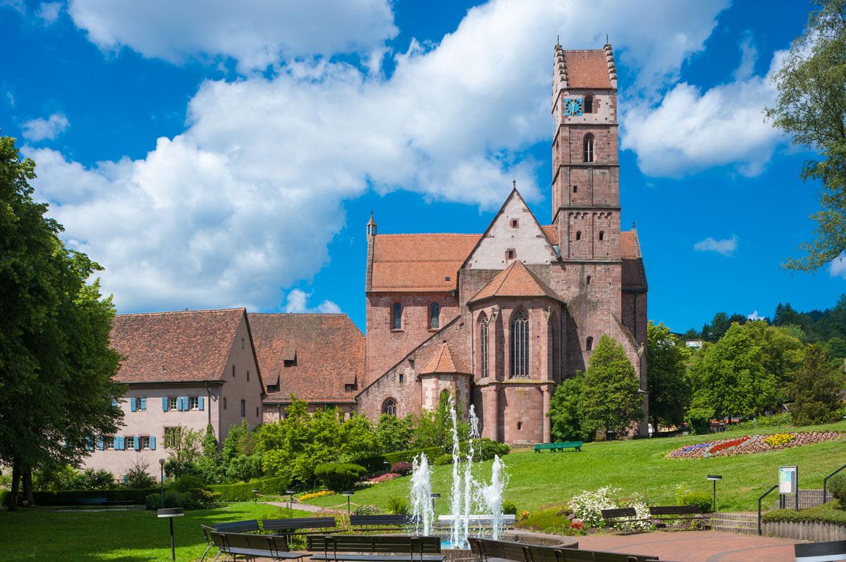 <p>Klosterkirche Alpirsbach</p>