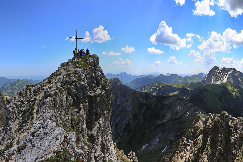 Gipfel des Ponten
