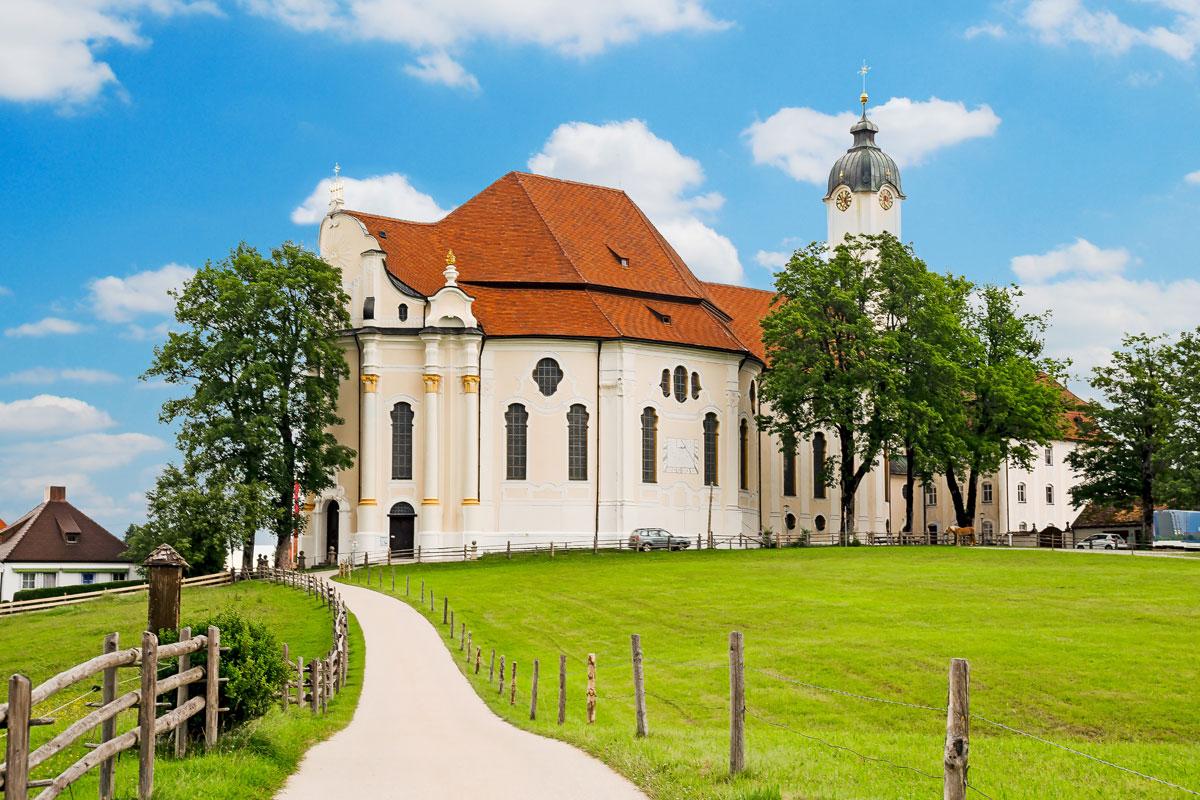 Wallfahrtskirche Wieskirche im Pfaffenwinkel
