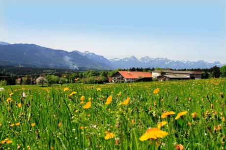 Frühlingsurlaub mit traumhafter Aussicht auf die Berge