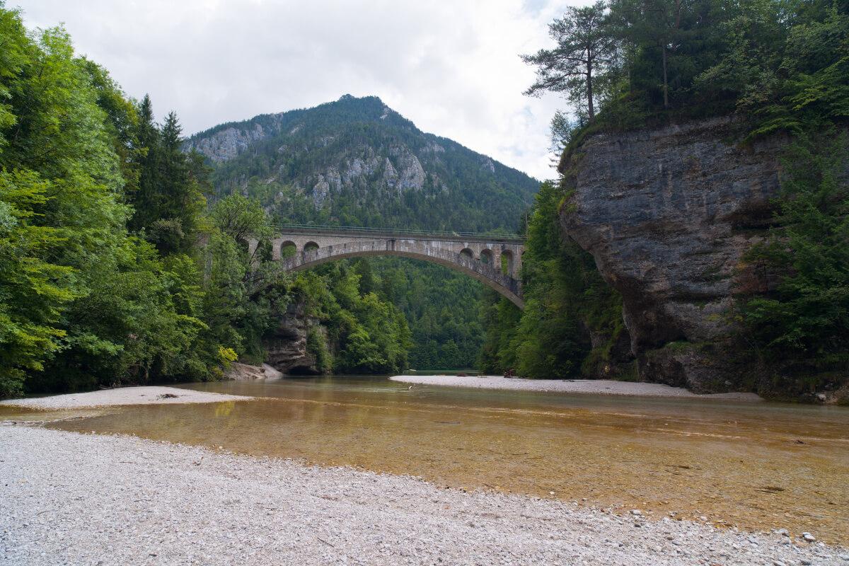 Der Fluß Steyr bei Molln