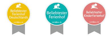 <p>© Landreise.de - Beliebtester Ferienhof</p>