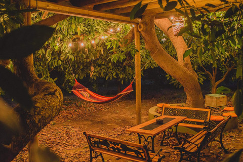 Entspannen auf der Orangia Ecohosting Farm in Griechenland