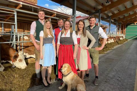 Ihre Gastgeberfamilie Pichler-Steiner