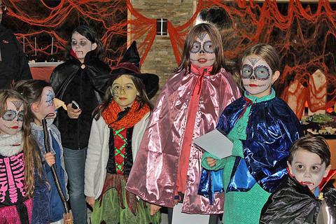 Halloween auf dem Bauernhof