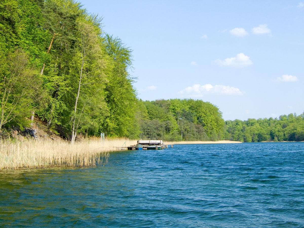 Der Liepnitzsee bei Wandlitz