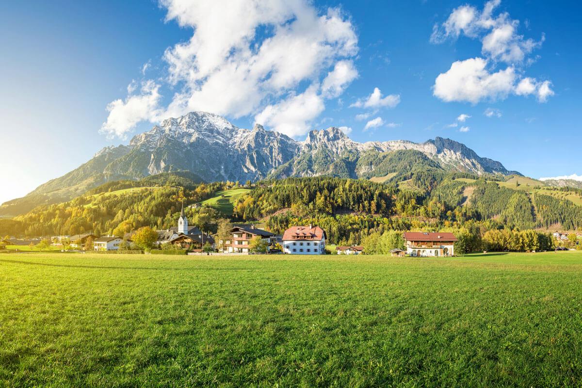 Bergdorf in Saalfelden