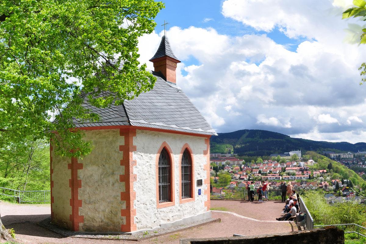 Die Ottilienkapelle in Suhl