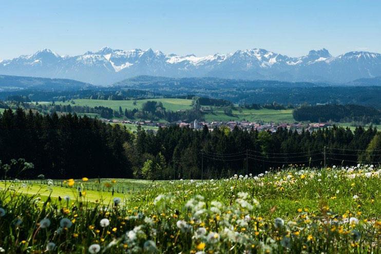 Ortsansicht Stötten - © Gemeinde Stötten am Auerberg
