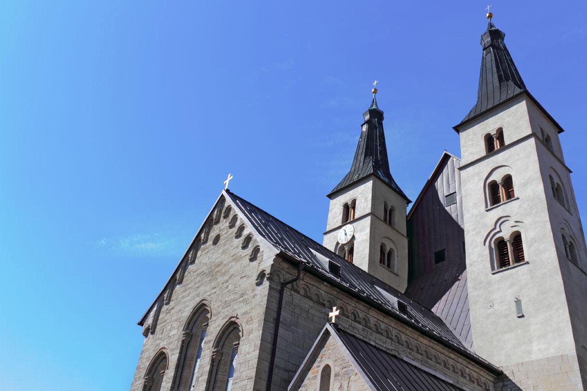 """<p>Dom """"Zum heiligen Kreuz"""" in Nordhausen</p>"""