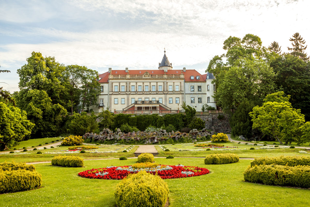 Schloss Wiesenburg im Hohen Fläming