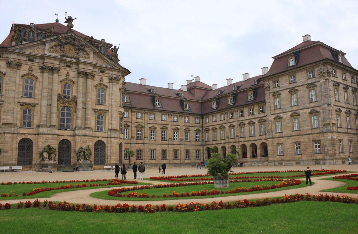 <p>Schloss Weißenstein bei Pommersfelden</p>