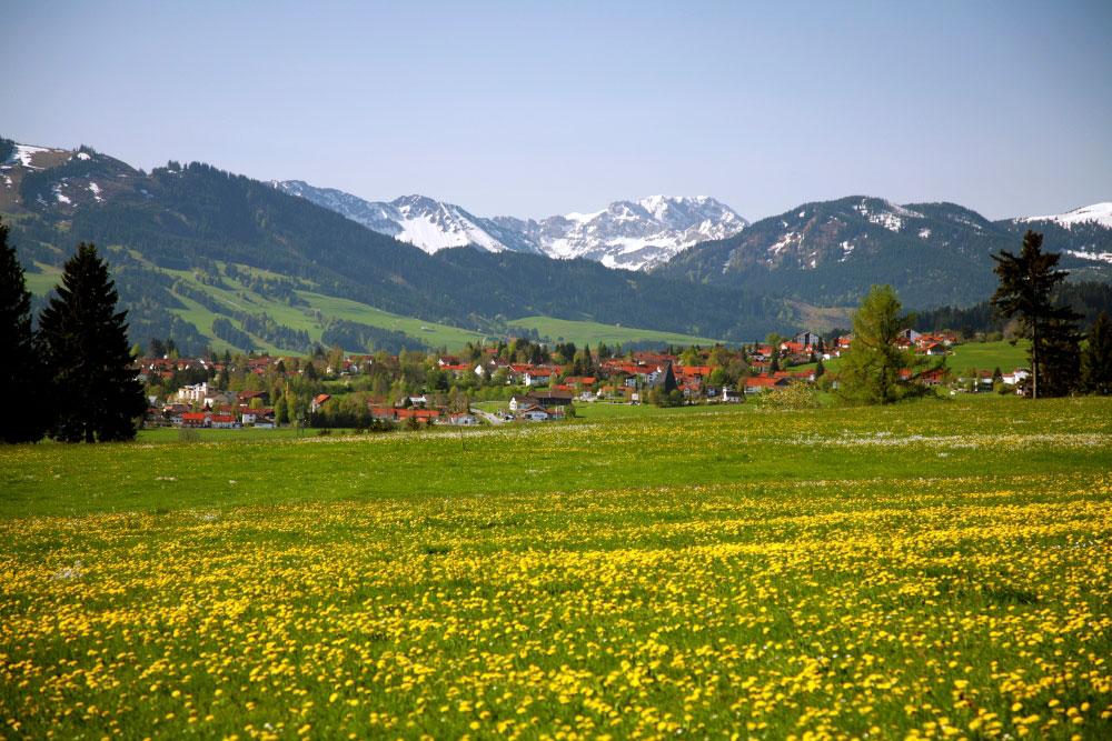 @ Kur- und Tourismusbüro Oy-Mittelberg - Blick auf Oy