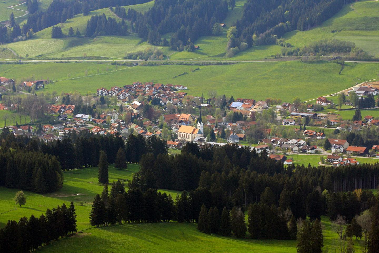© Tourismusbüro Weitnau - Weitnauer Tal