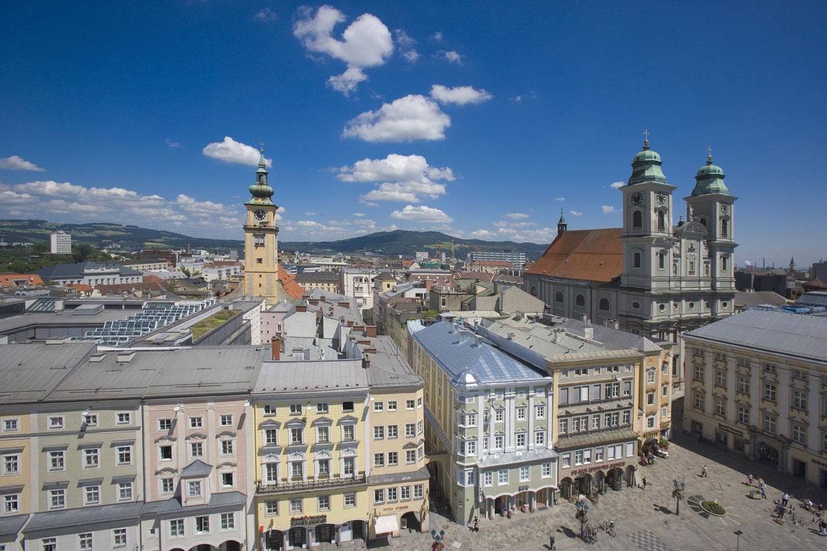 <p>Linz - Hauptstadt von Oberösterreich</p>