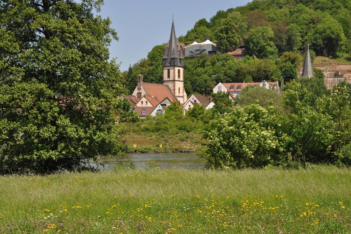 Kirche in Gmünden im Bayerischen Spessart