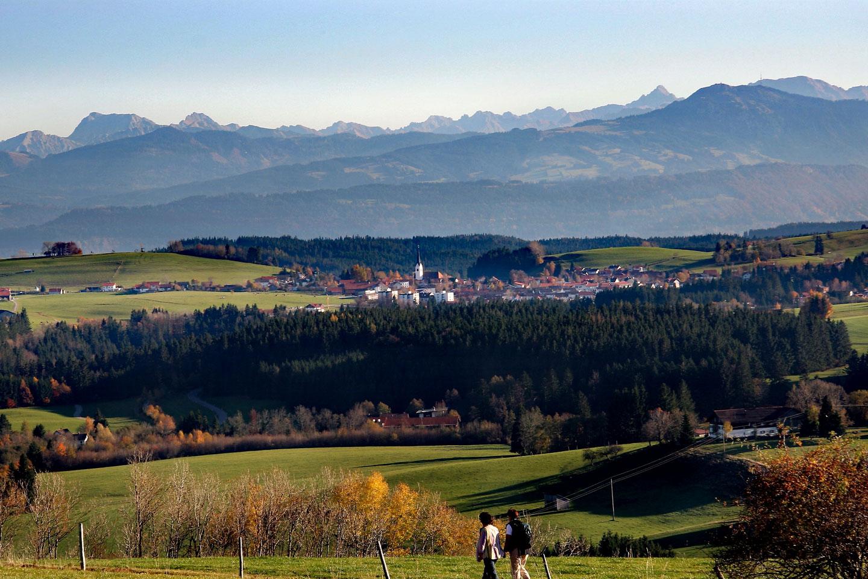 © Touristinformation Buchenberg - Wandern in der abwechslungsreichen Buchenberger Umgebung