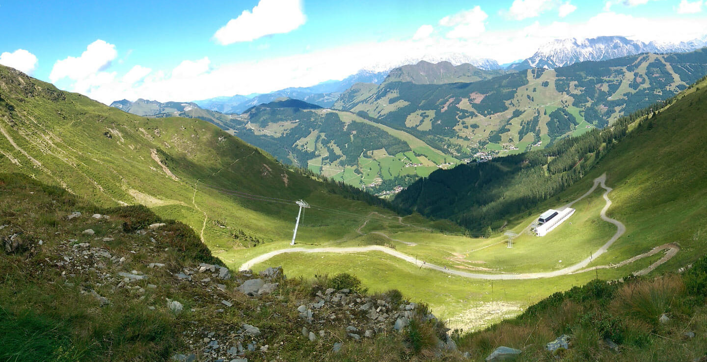 Berge in Saalbach