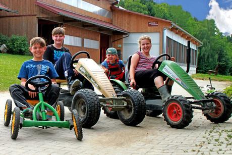 Kettcar fahren - Ederhof