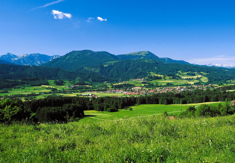 © Touristinformation Wertach - Blick auf Wertach