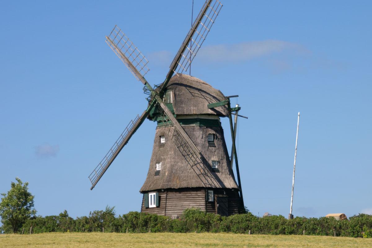 Windmühle in der Region Holsteinische Schweiz