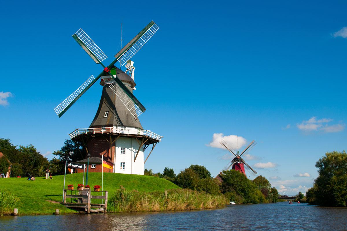 Windmühlen in Niedersachsen