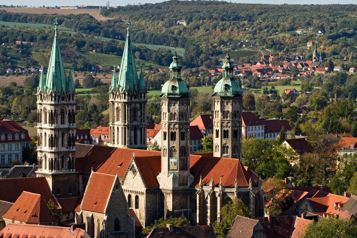 Naumburg im südlichen Sachsen-Anhalt