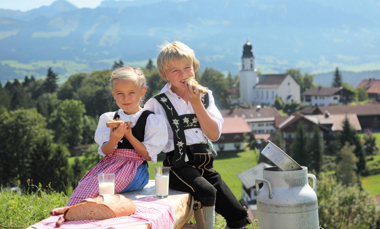 © Manfred Felder Gästeinformation Ofterschwang - Gutes vom Dorf