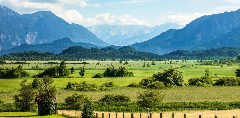 Murnauer Moos im Werdenfelser Land