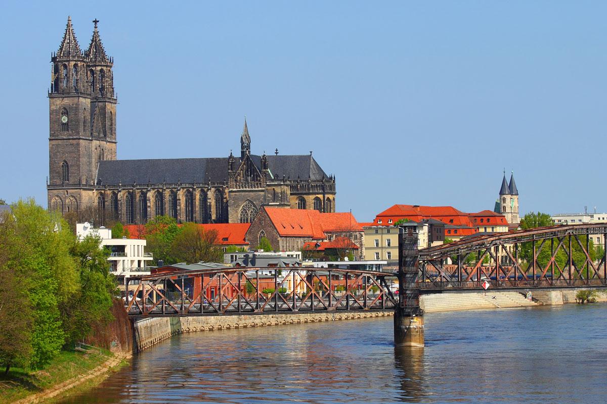 Magdeburg in der Region Elbe-Börde-Heide