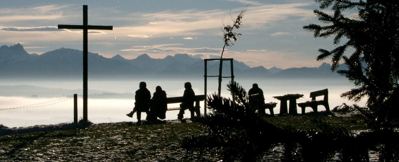 Auerberg im Nebel - © Tourismusverein Bernbeuren