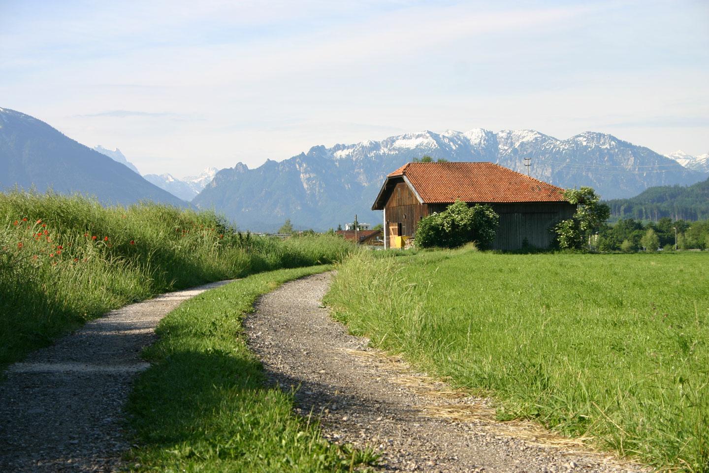 @ Gemeinde Ainring - Wandern