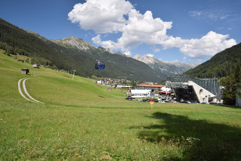 Bergbahn in Sankt Anton