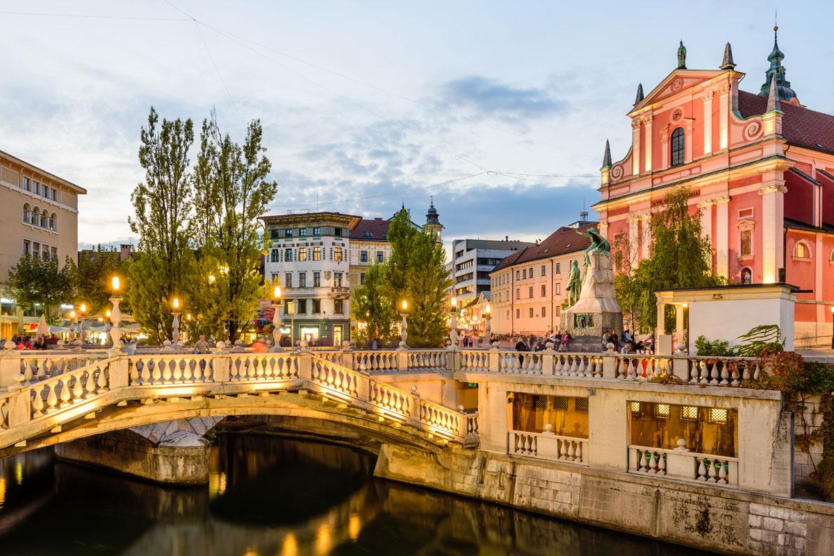 Tromostovje Ljubljana