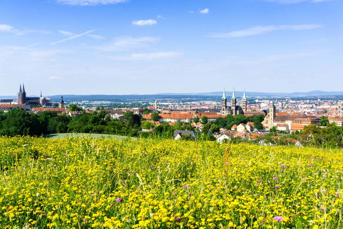 <p>Panorama von Bamberg</p>