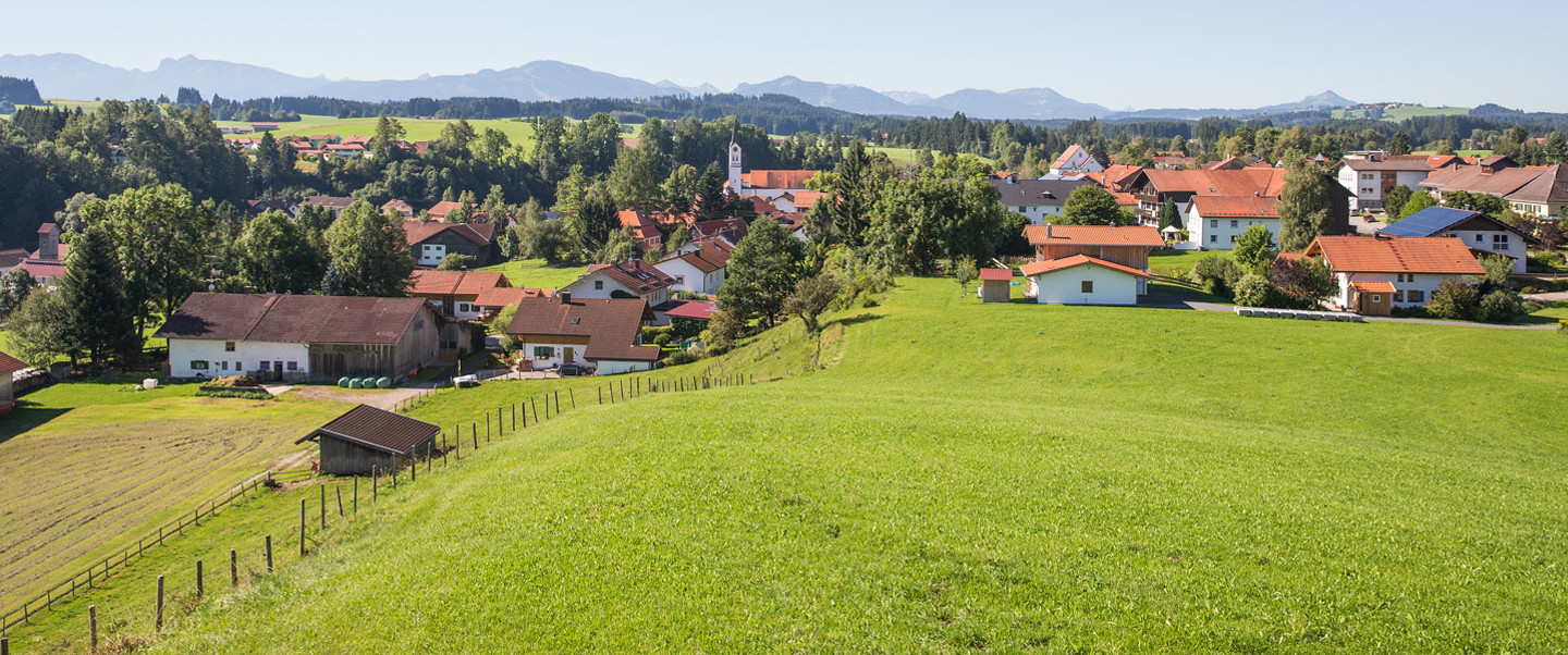 Ortsansicht Fittar - © Touristinformation Görisried