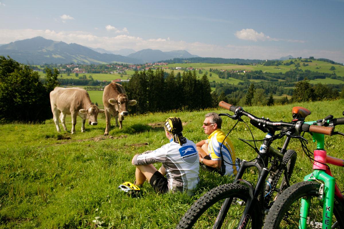 @ Kur- und Tourismusbüro Oy-Mittelberg - Mountain Biking