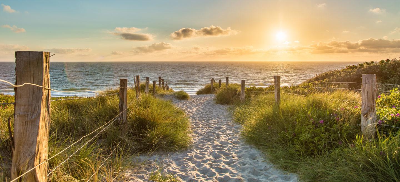 Der Weg zur Ostseeküste
