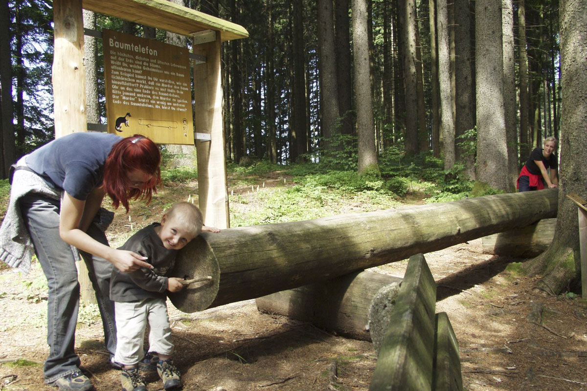 @ Tourist-Info Wertach - Baumtelefon