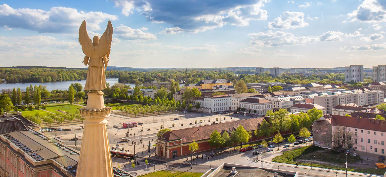Die Stadt Potsdam im Berliner Umland