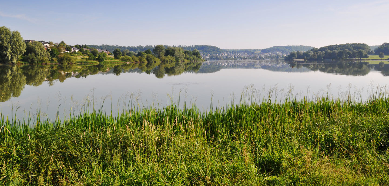 Wiesensee in Mittelhessen