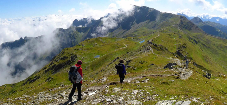 Karnischer Höhenweg in Österreich