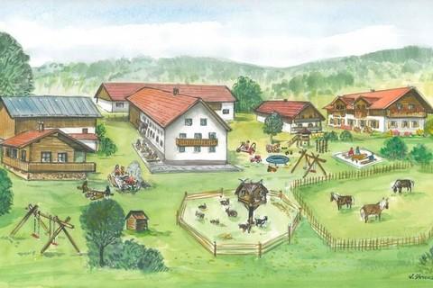 Winterfreuden auf einem Bauernhof wie im Bilderbuch - Familienferienhof Wenighof
