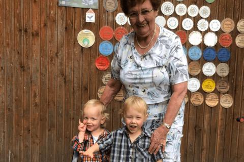 Mehrere Generationen auf dem Schelterhof