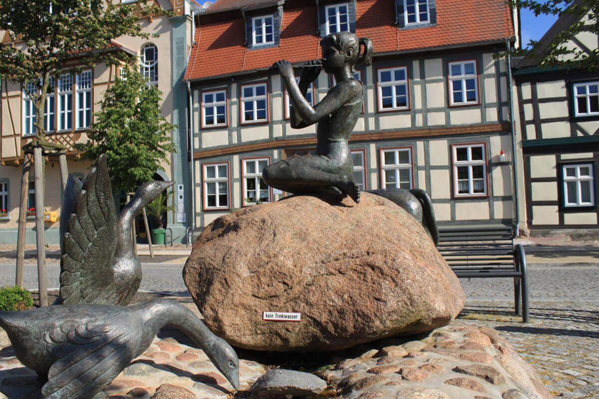 Marktbrunnen in Arneburg an der Elbe
