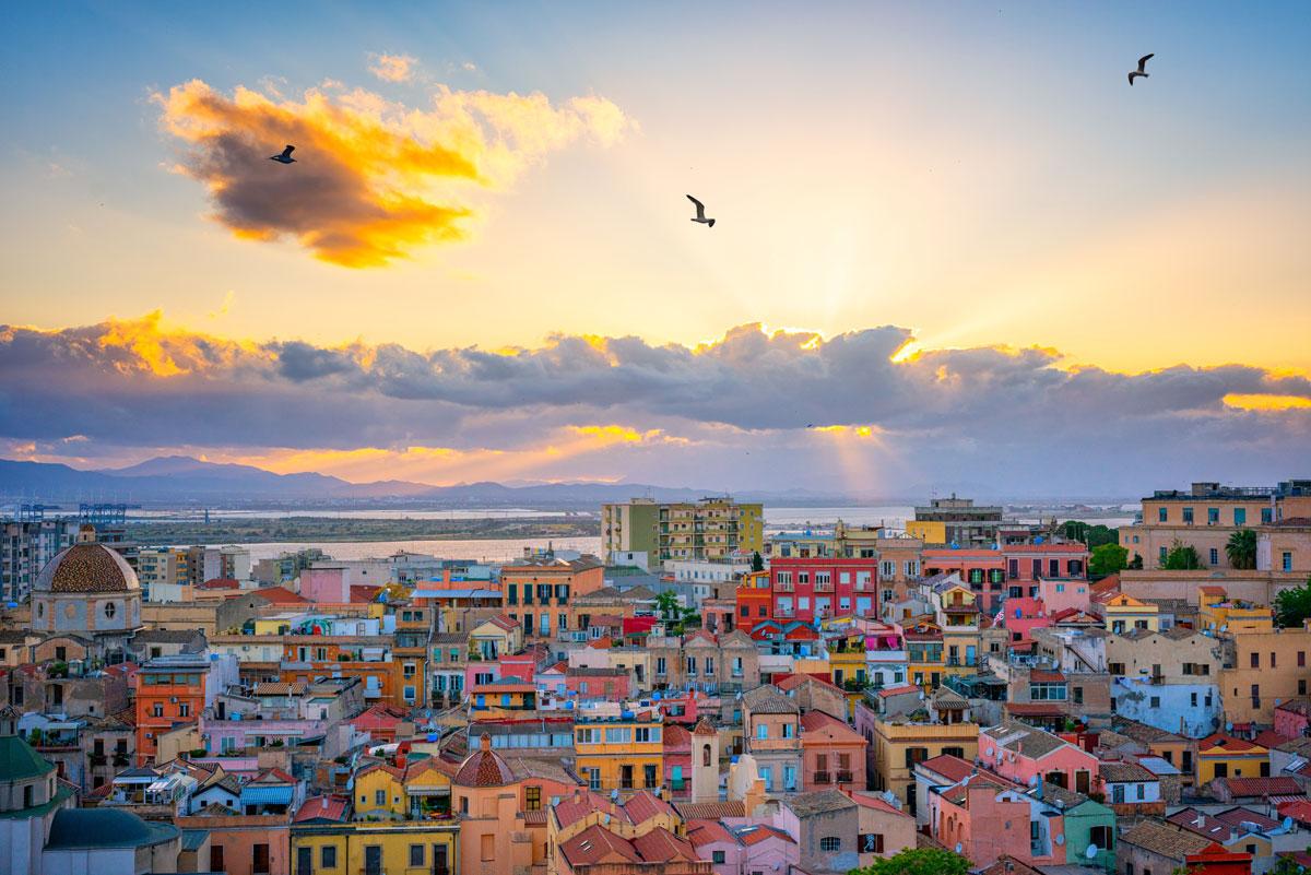 Cagliar - Hauptstadt von Sardinien