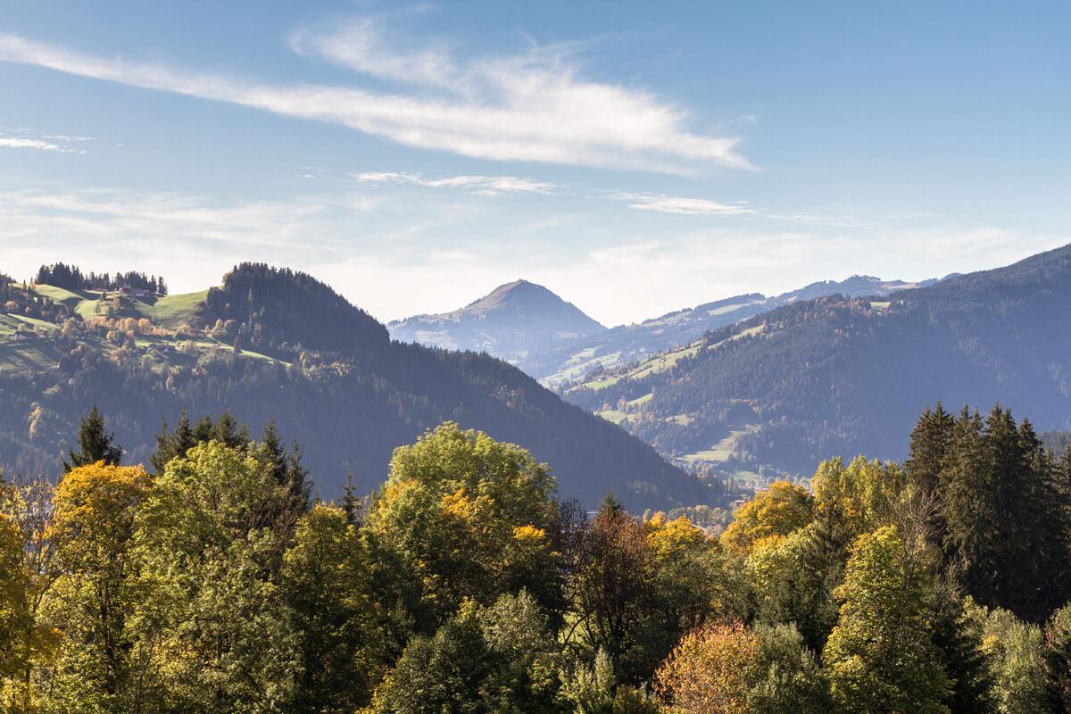 Herbstlandschaft - Hohe Salve